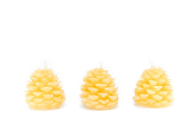 Load image into Gallery viewer, Bees Wax Works - Tree Cone Candles