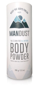 Mandust - Men's Body Powder