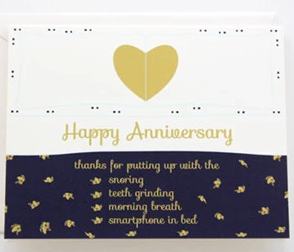 Designs By Val - Anniversary Bed card