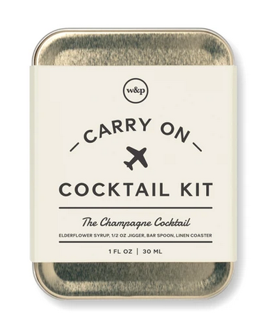 W&P Design - Carry on Cocktail Kit
