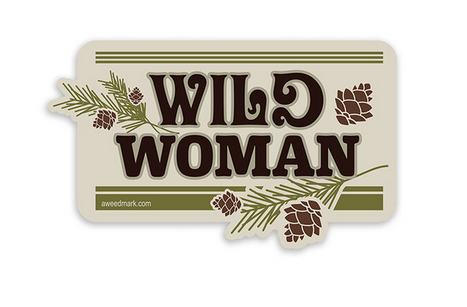 Amanda Weedmark - Wild Woman Sticker