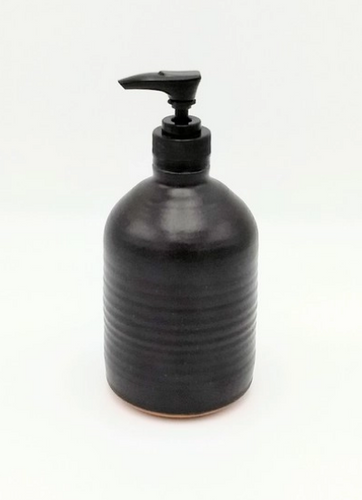 Clay Path Studio - Tall Ceramic Soap/Lotion Dispenser