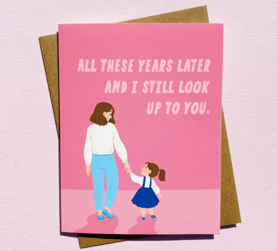Top Hat and Monocle - Mother's Day - Still Look Up to You card