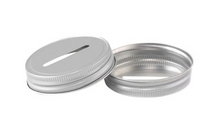 Load image into Gallery viewer, Jar Bar™ - Coin Slot Lid - Regular Mouth