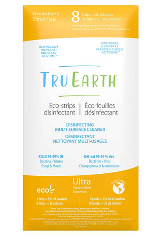Tru Earth - Eco-Strips Disinfecting Multi-Surface Cleaner 32-load pack