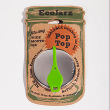 Load image into Gallery viewer, EcoJarz - Pop Top Mason Jar Lids - Wide Mouth