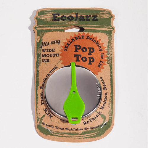 EcoJarz - Pop Top Mason Jar Lids - Wide Mouth