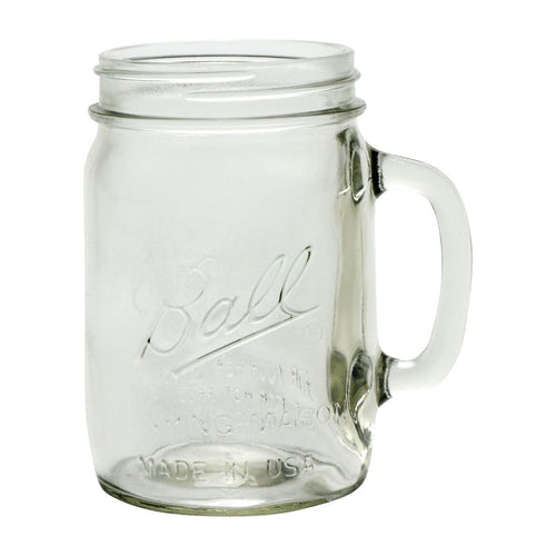 Ball - Handled Mason Jars