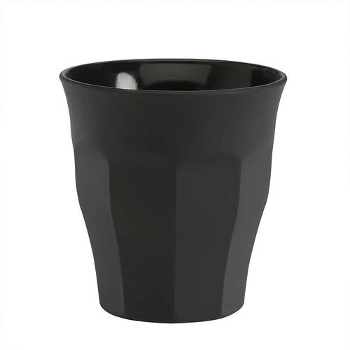 Duralex - Picardie Black Soft Touch Glass Tumblers