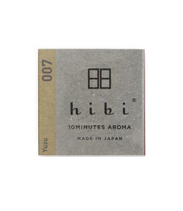 Hibi Aroma - Incense Matches Japanese Fragrance Collection