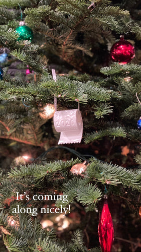 Toilet Paper 2020 Christmas Ornament