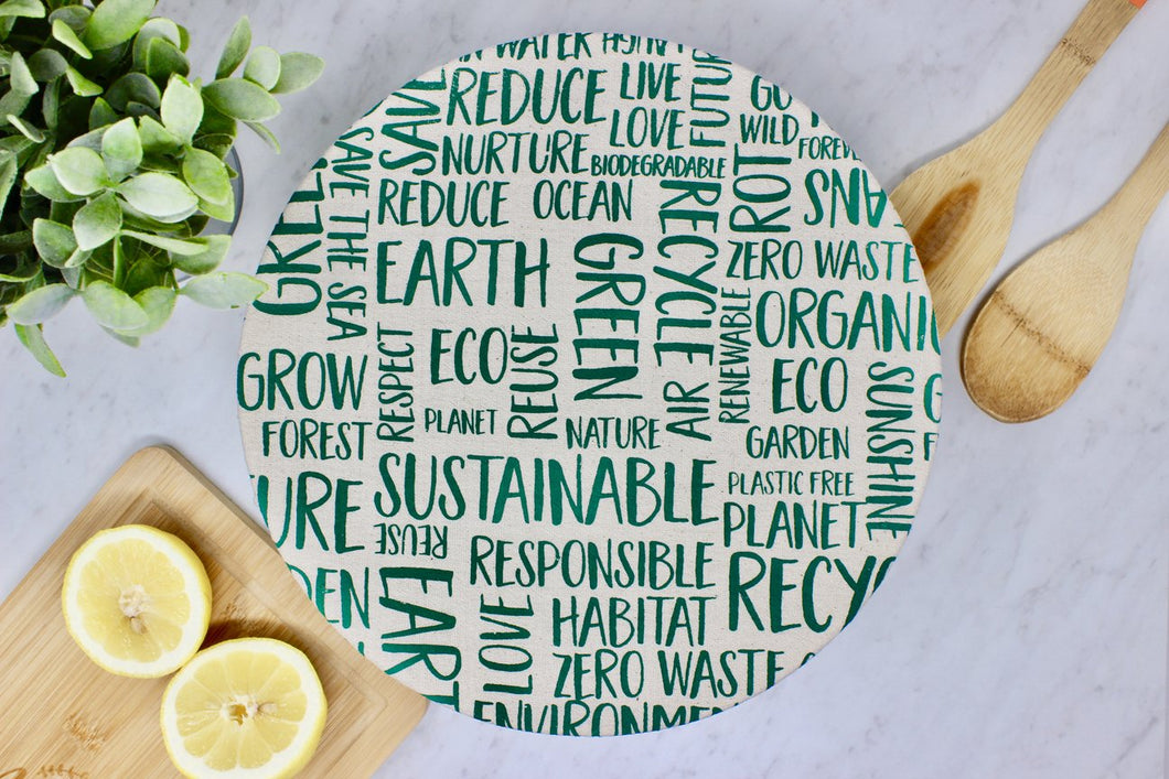 Your Green Kitchen - Fabric Bowl Covers
