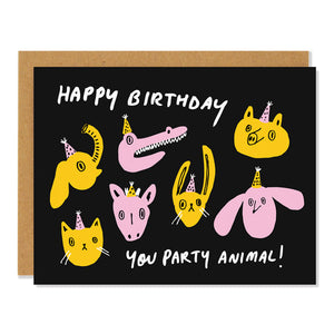 Badger & Burke - Party Animal Card