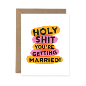 Woodbine Drive - Holy S***...Getting Married Card