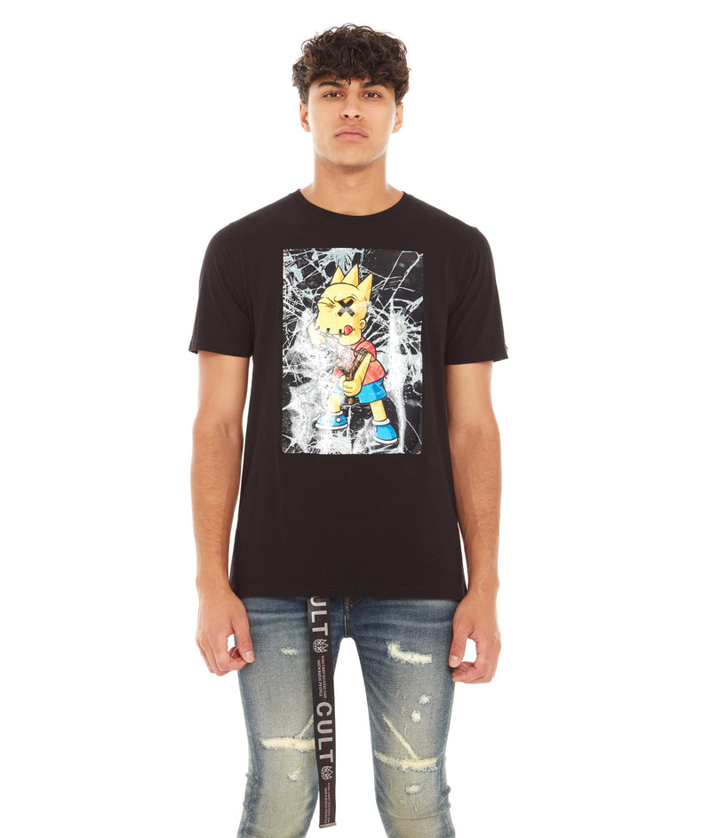 CULT OF INDIVIDUALITY S/S TEE SHATTERED
