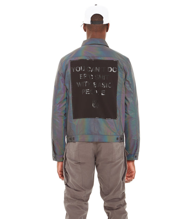 CULT OF INDIVIDUALITY REVERSIBLE TYPE II DENIM JACKET