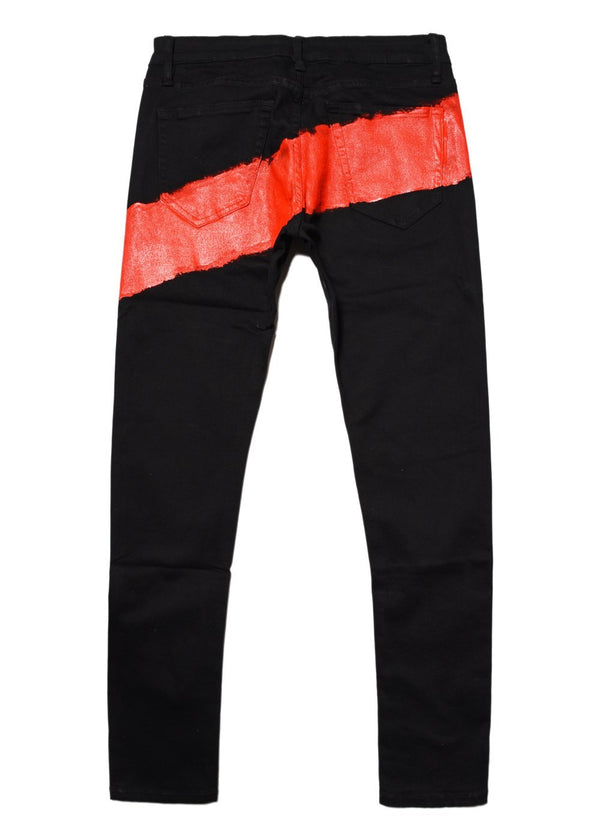 Mursaki Red Stripe Jean