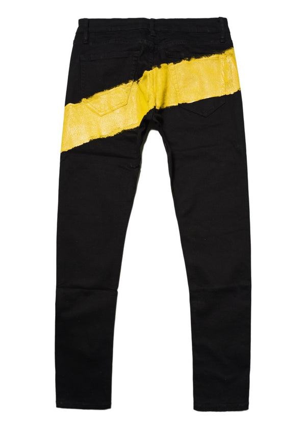 Mursaki Yellow Stripe Jean