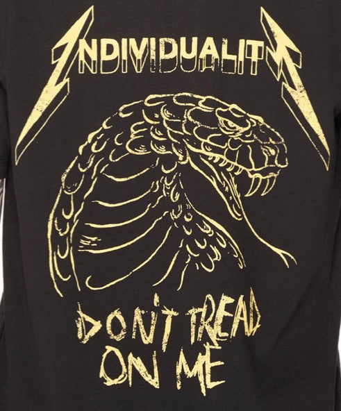 CULT OF INDIVIDUALITY DON'T TREAD ON ME TEE