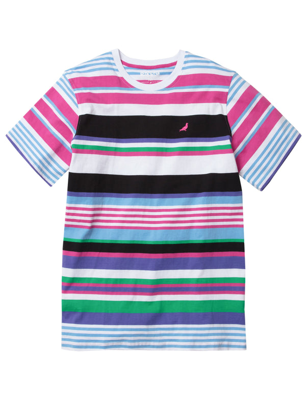Staple Multi Stripe Tee