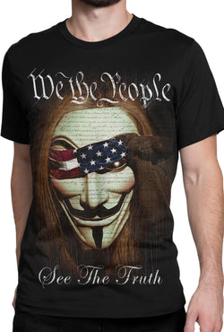 Get Down Art We The People Tee