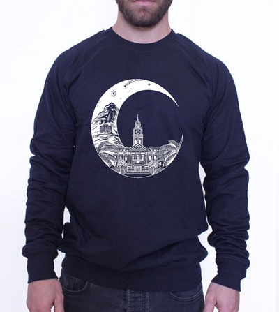 UNISEX SWEATER - MOON MOOD
