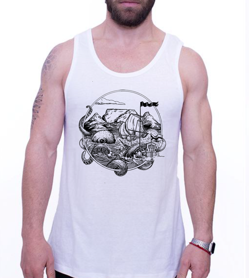 MENS VEST - OCTO MOOD