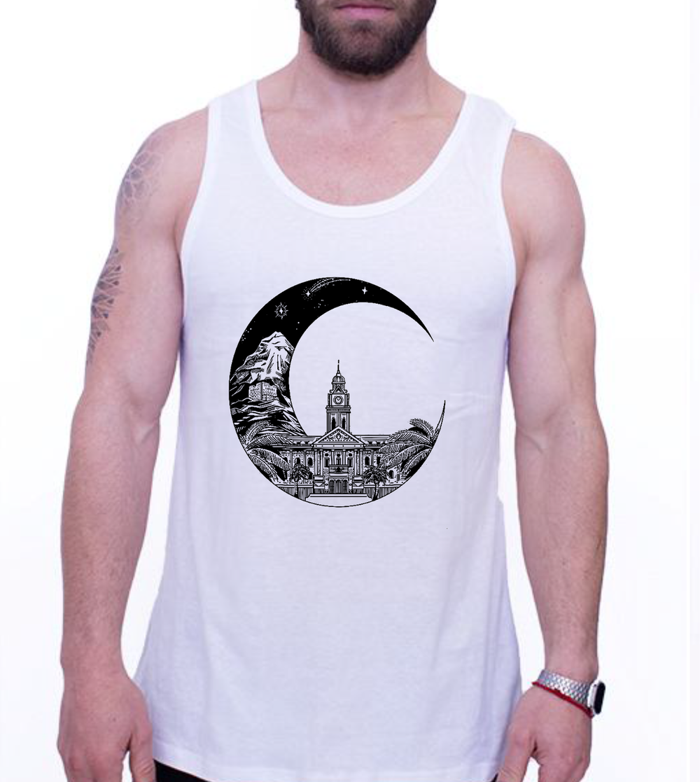 MENS VEST - MOON MOOD