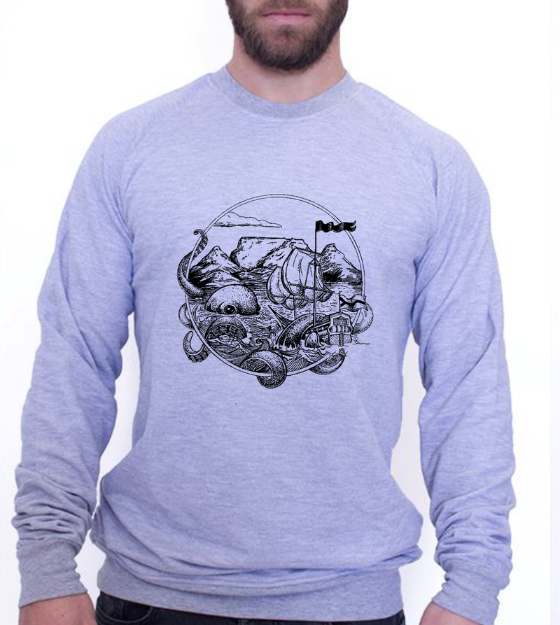 UNISEX SWEATER - OCTO MOOD