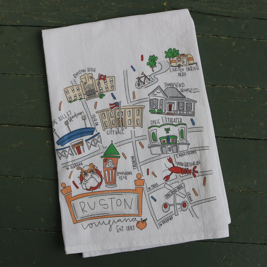 Ruston Tea Towel