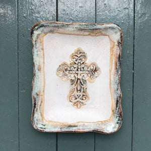 """Blessed Assurance""  Rectangle Dish"