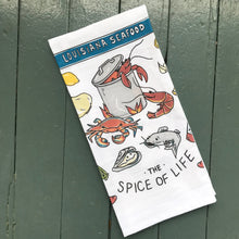 Load image into Gallery viewer, Louisiana Seafood Dish Towel