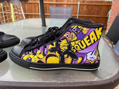 Lyle Boom! High Top Shoes by Balloon Dog Apparel