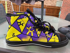 Lyle Style High Top Shoes by Balloon Dog Apparel