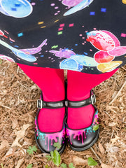 Paint Splatter Mary Janes by Balloon Dog Apparel