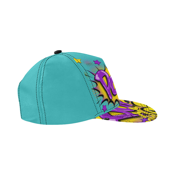 POP on Blue - Snapback Cap