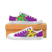 Load image into Gallery viewer, Comic Purple Rain Men's Sully Canvas Shoe (SIZE 6-12)