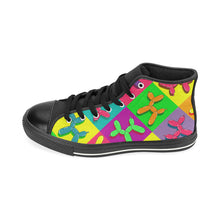 Load image into Gallery viewer, Retro Dogs - Women's Sully High Tops (SIZE 6-10)
