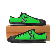 Load image into Gallery viewer, Green Wazowski - Men's Sully Canvas Shoes (SIZE 13-14)