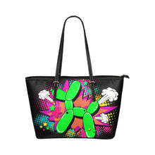 Load image into Gallery viewer, Comic Balloon Dog - Black Handle Heidi Tote Bag