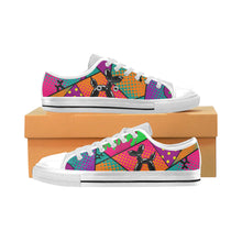 Load image into Gallery viewer, Technicoloured - Kids Sully Canvas Shoe