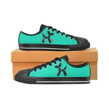 Load image into Gallery viewer, Mermaid Fart - Women's Sully Canvas Shoes (SIZE 11-12)