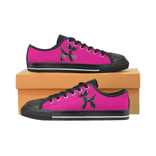 Load image into Gallery viewer, Pretty in Pink- Women's Sully Canvas Shoes (SIZE 11-12)