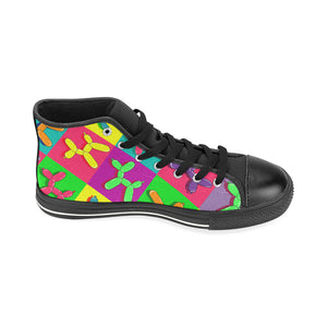 Retro Dogs - Women's Sully High Tops (SIZE 11-12)