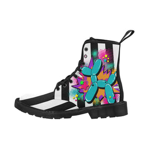 Beetlejuice Dog - Women's Ollie Combat Boot (SIZE 6.5 - 12)