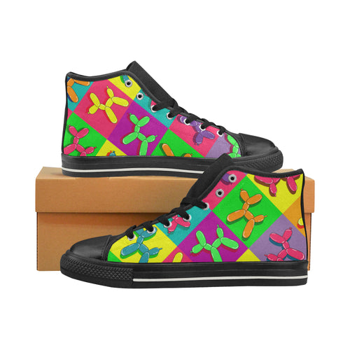 Retro Dogs - Men's Sully High Tops (SIZE 6-12)