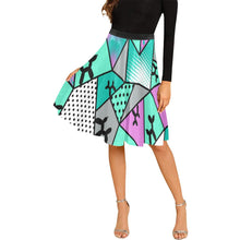 Load image into Gallery viewer, Ice Ice Baby - Catie Circle Skirt