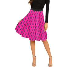 Load image into Gallery viewer, Balloon Dog Mirage on Pink - Catie Circle Skirt