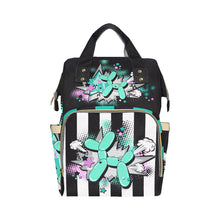 Load image into Gallery viewer, Banksy Backpack - Balloon Dog Funk
