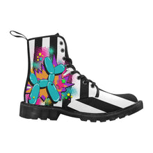 Load image into Gallery viewer, Beetlejuice Dog - Women's Ollie Combat Boot (SIZE 6.5 - 12)